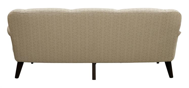 Bow Scroll Arm Sofa 210cm