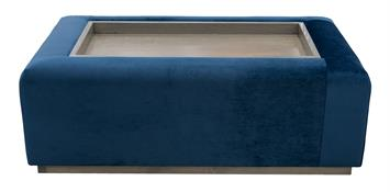 Windsor Ottoman with Tray, 120cm
