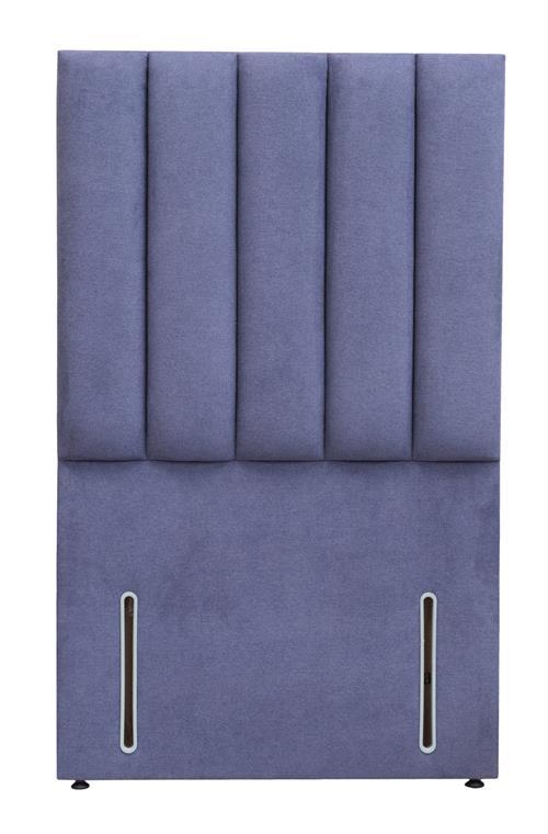 Mayenne Single Fluted Headboard - Euro Slim (90cm)