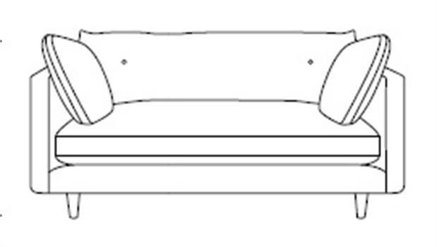 Salone Button-Back Snuggler
