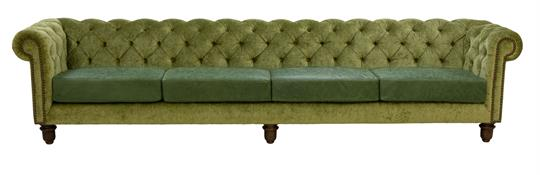 Marylebone Buttoned Chesterfield 340cm