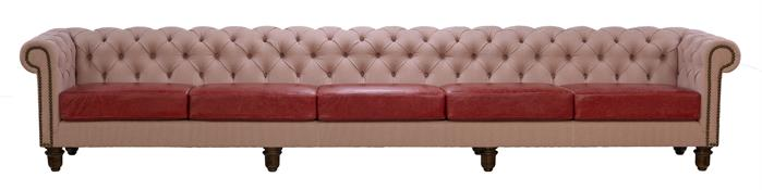 Marylebone Buttoned Chesterfield 415cm