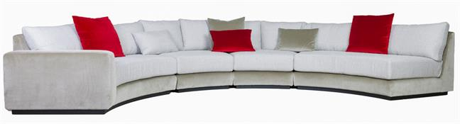 Cinema Curved Sectional